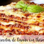 10 recetas de lasaña con thermomix