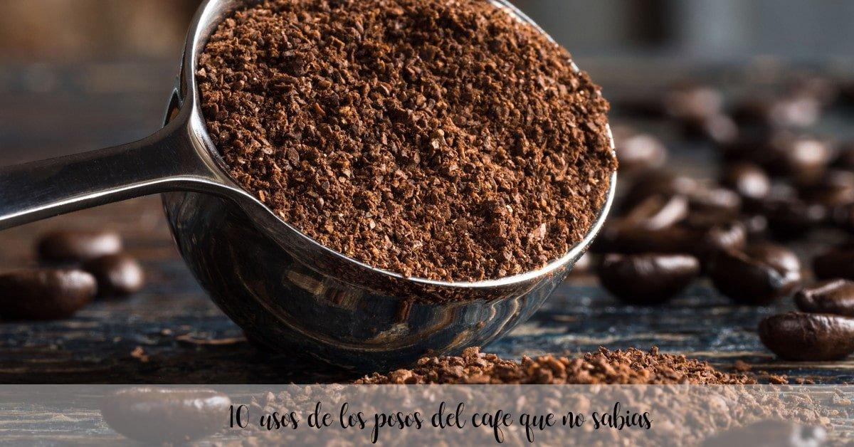 10 usos de los posos del cafe que no sabias
