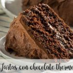 20 Tartas con Chocolate con Thermomix