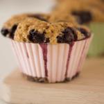 Receta de muffins de frambuesa con Thermomix