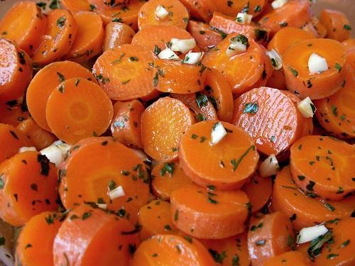 Receta de ensalada marroquí de zanahoria para la Thermomix