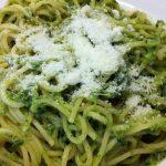 espaguetis con espinacas con thermomix