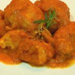 Receta de pollo con salsa de tomate en la Thermomix