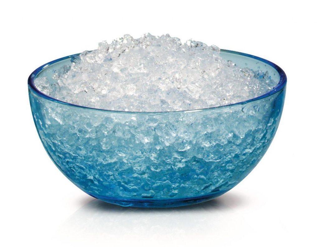 truco: picar hielo con thermomix