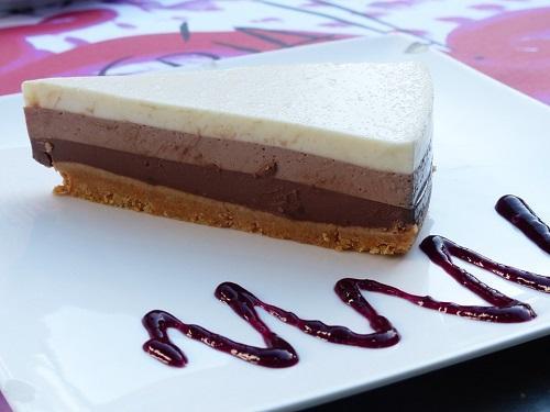 tarta 3 chocolates con thermomix