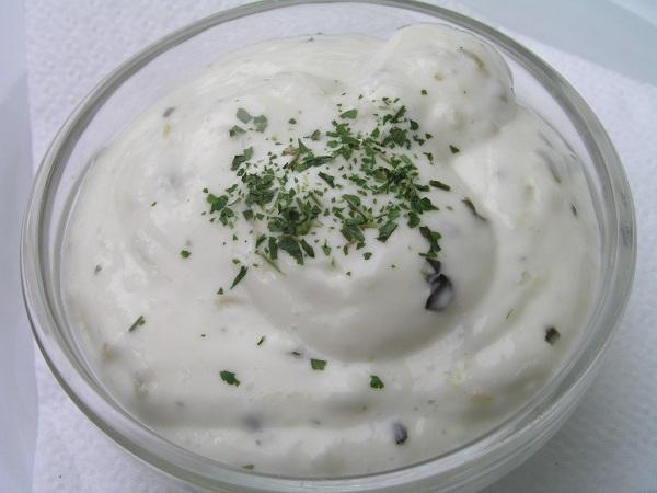 Receta de salsa de yogur con la Thermomix