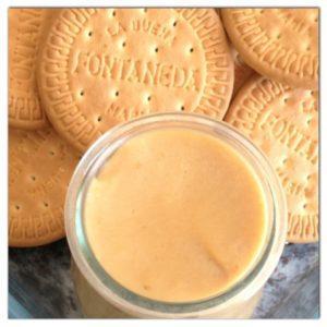 Yogur de galleta maria con thermomix
