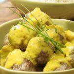 Albondigas al curry con la thermomix