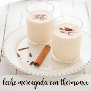 Cómo preparar la leche merengada con Thermomix