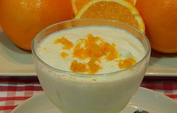 Receta de mousse de naranja con la Thermomix