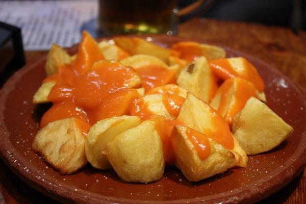 Receta de patatas bravas con la Thermomix