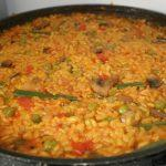paella de pollo thermomix