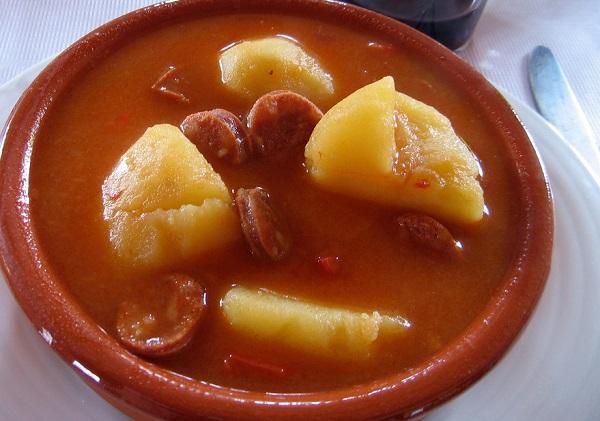 patatas a la riojana con thermomix