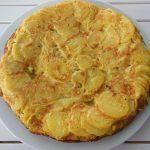 Receta de tortilla de patatas con la Thermomix