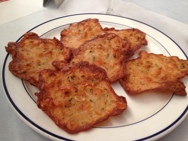 Receta de tortillitas de camarones con la Thermomix