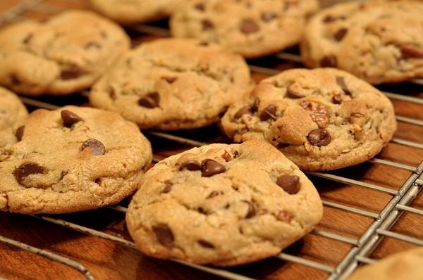 cookies con pepitas de chocolate con thermomix
