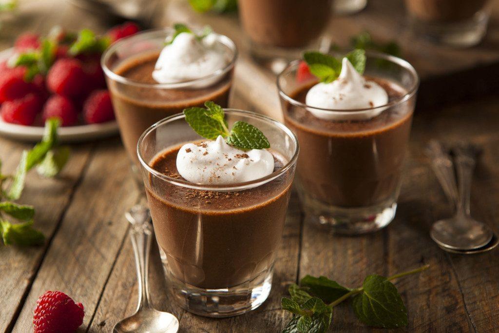Receta de mousse de chocolate con la Thermomix
