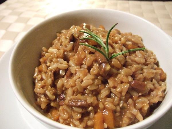 Receta de risotto con setas en la Thermomix