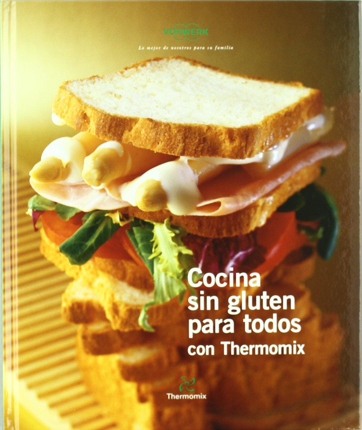 Cocina sin gluten para todos libros thermomix para celiacos recetas para thermomix - Cocina para todos ...