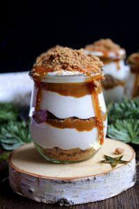 Crema de caramelo y galleta thermomix