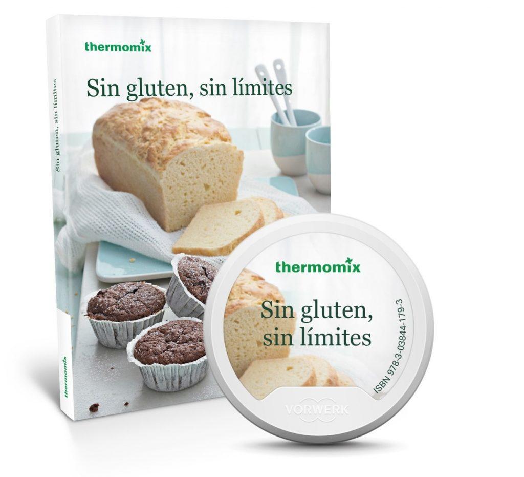 Sin gluten, sin límites - Libro Thermomix para celiacos