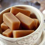 Caramelos de mantequilla salada con thermomix