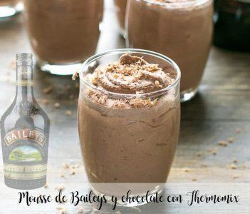 Mousse de Baileys y chocolate con Thermomix