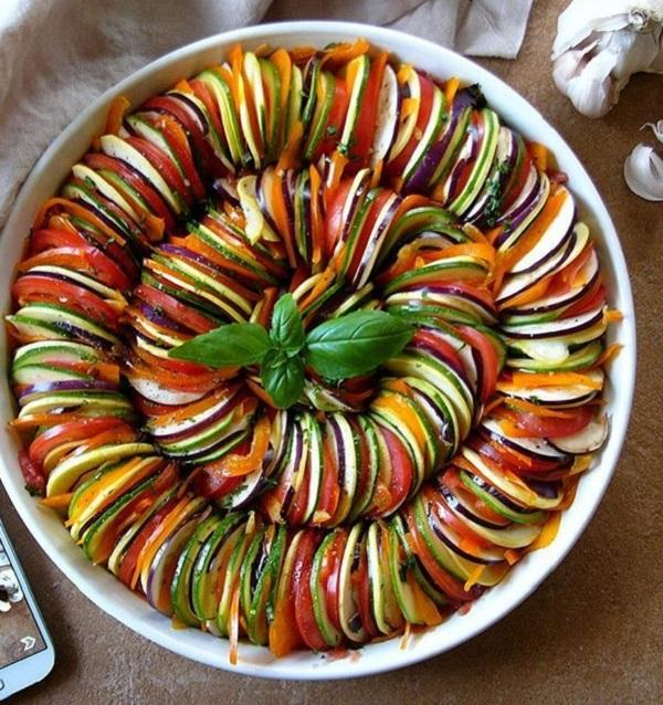 ratatouille en la Thermomix