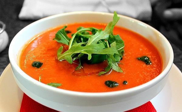 Receta de sopa de tomate en la Thermomix