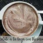 Chocolate a la taza con la Thermomix