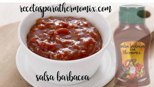 Salsa barbacoa con thermomix