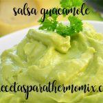 Salsa Guacamole con thermomix