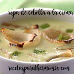 Sopa de Cebolla a la crema con thermomix