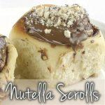 Rollitos de Nutella con Thermomix