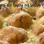 Albondigas de buey en salsa española con thermomix