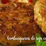 Hamburguesas vegetales de soja