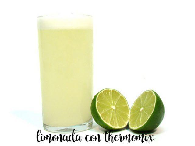 limonada con thermomix