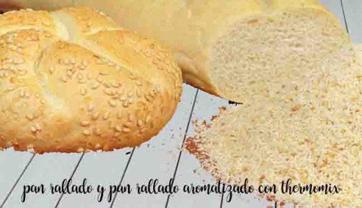 Truco: Como hacer pan rallado y pan rallado aromatizado con thermomix