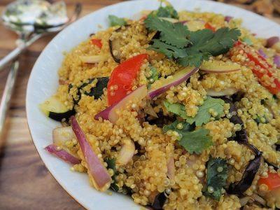 Verduras con quinoa en la Thermomix