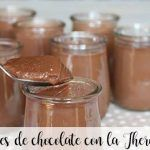 Yogures de chocolate con la Thermomix