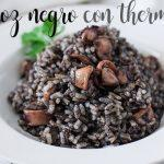 Arroz negro con thermomix