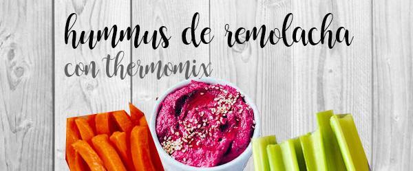 Hummus de remolacha con thermomix