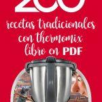 Libro gratis thermomix en pdf : 200 recetas tradicionales