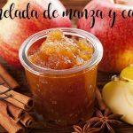 Mermerlada de manzana y canela en Thermomix