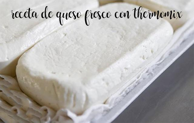 Hacer queso Fresco con Thermomix