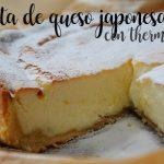 Tarta de queso japonesa con thermomix