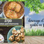 2700 recetas gratuitas con thermomix