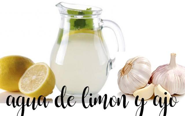 Agua de ajo y limón, quema grasa natural con thermomix