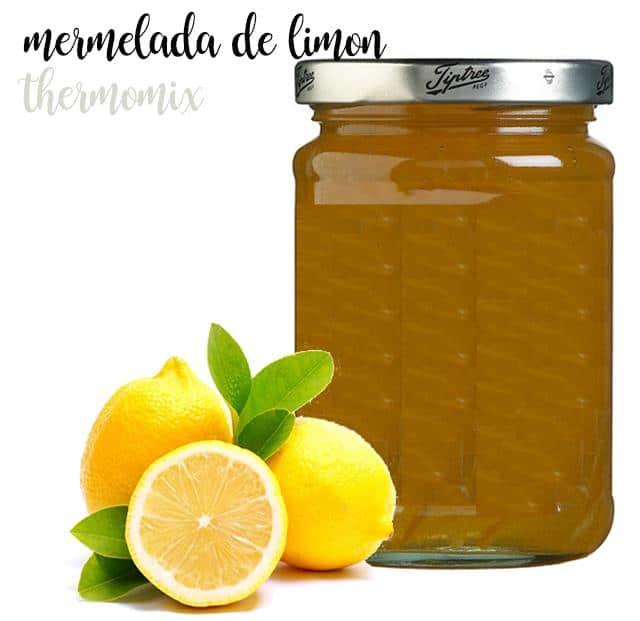 Mermelada de limón con thermomix