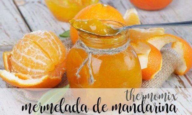 mermelada de mandarina con thermomix